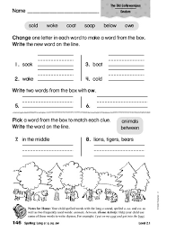 The worksheet is an assortment of 4 intriguing pursuits that will enhance your kid's knowledge and abilities. Spelling Long O O Oa Ow Worksheet For 1st 2nd Grade Lesson Planet