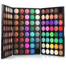 <b>popfeel</b> 120 colors mini <b>eyeshadow</b> palette set kit matte <b>glitter</b> ...