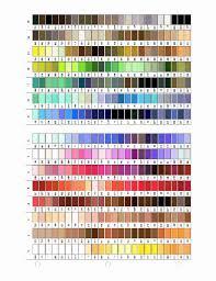 Madeira Embroidery Thread Colour Chart 13 Exhaustive Thread Dye Chart