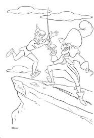 Small Picture Captain hook and peter pan coloring pages Hellokidscom