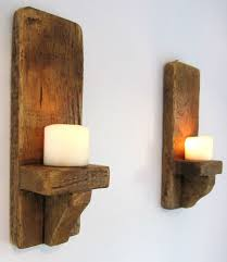 handmade wood sconces mason jar sconce rustic wall decor