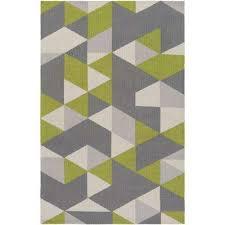 joan fulton lime green 8 ft x 11 ft indoor area rug