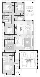 awesome narrow lot house plans single story gebrichmond com