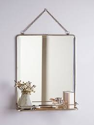 amusing bathroom mirror with shelf remodel ideas vintage home design regard to attached and light uk