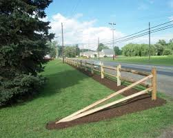 2 Rail Split Rail Fence Style Fence panels Pinterest Fence
