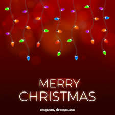 red christmas lights background. Modren Red Red Christmas Background With Lights Free Vector And Christmas Lights Background H