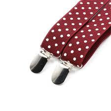 <b>Suspenders Man'S</b> Braces 6 Clips <b>Fashion</b> Trousers Strap 20 Colors ...