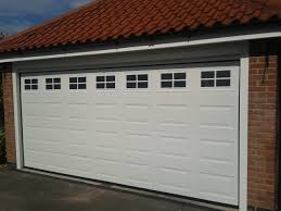 electric garage doorsDouble Automatic Garage Door  Garage Door Company Grantham
