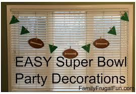 Super Bowl Party Decorating Ideas Super Bowl Party Decoration Ideas Family Finds Fun 75