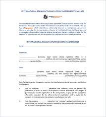 License Agreement Template Gtld World Congress