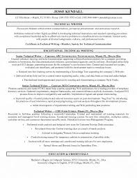 How To Write A Resume Example Gorgeous Techn On Resume Writing Services Technical Writing Resume Examples
