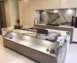 Amazing kitchen in natural stone