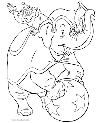 Small Picture Circus elephant coloring page Embroidery Critters Pinterest