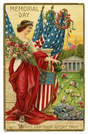 vintage memorial day postcard images | vintage patriotic image featured  here is an old memorial day