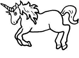 Disegni Da Colorare Di Unicorni Fare Di Una Mosca