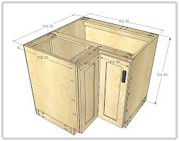 corner cabinet measurements marvelous kitchen corner cabinet sizes dimensions plan