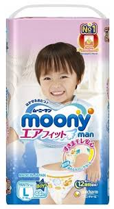 <b>Moony трусики Man для</b> мальчиков L (9-14 кг) 44 шт. — купить по ...