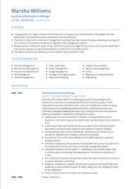 Management Cv Management Cv Examples Templates Visualcv