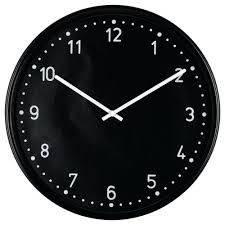 cool office clocks. Glamorous Wall Clock Black Depth 1 A 2 Diameter Modern Office Clocks Cool O