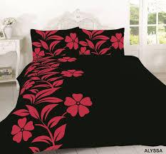 alyssa flora duvet cover set printed bedding with pillow case