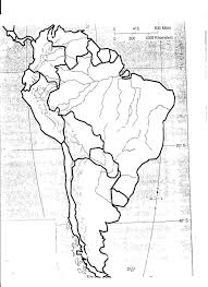 North And South America Blank Map 14 Actual North America Map Pdf