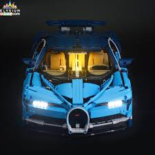 Lego Bugatti Chiron Light Kit Installation Led Light Up Kit Only Light Set For Lego Technic Bugatti Chiron 42083