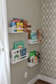 painting shelves ideasBest 25 Nursery shelving ideas on Pinterest  Nursery shelves