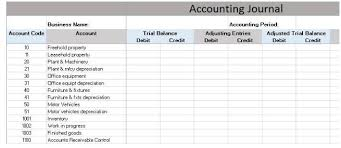 Simple General Ledger Download Free General Ledger In Excel Format Excel Template