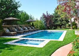 Plain Swimming Pool Backyard With Minimal Decking Deckjets And Throughout Models Ideas
