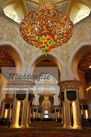 the largest chandelier in the world sheikh zayed mosque abu dhabi united arab