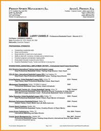 Assistant Coach Resume Samples College Basketball Coach Resume New Athletic Resume Template Pretty