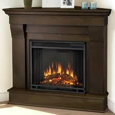 cau corner electric fireplace