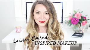lauren conrad inspired makeup from sey with love