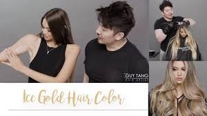 <b>Ice Gold</b> Hair <b>Color</b> - YouTube