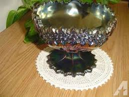 a fenton carnival glass compote candy dish or bowl for in phoenix arizona
