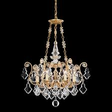 schonbek versailles 9 light chandelier 2786