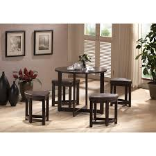Kitchen Pub Table And Chairs Kitchen Modern Black Bar Table With Stainless Steel Chair Stand