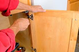 hinges sometimes need minor adjustment to get doors properly aligned and operating smoothly