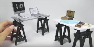 dolls house furniture ikea. Dollhouse Furniture IKEA FINNVARD Trestle Desk Dolls House Ikea