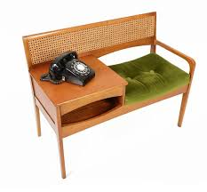 C Dianne Zweig  Kitsch U0027n Stuff Vintage Telephone Table Or Telephone Bench Seat