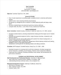 Custodian Resume Best 3613 Custodian Resume Template 24 Free Word PDF Documents Download