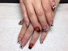 15 best Nail art images on Pinterest | Nail art, Checkered flag ...