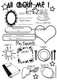 e5a73a569d7d6b7bd807625a8e0db1bb all about me worksheet this would be cute for a time cap or 1st on free printable all about me book