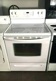 whirlpool glass top stove burner not working white slide in range workin white glass top stove whirlpool frigidaire