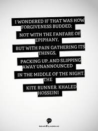 the kite runner kites khaled hosseini and books  the fanfare of epiphany but pain gathering its things packing up and slipping away unannounced in the middle of the night the kite runner