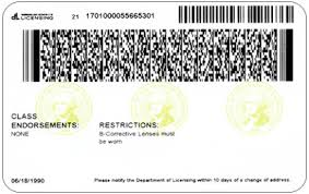 Nj Drivers Barcode Format License