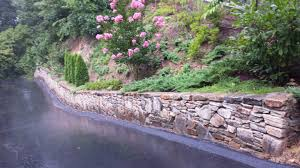 landscaping on a steep slope