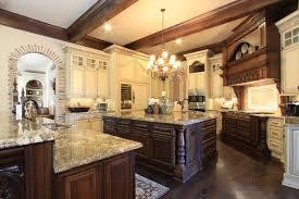 traditional kitchen ideas. Kitchen:Elegant Traditional Kitchen Ideas With Dark Brown Wood Floor And Island E