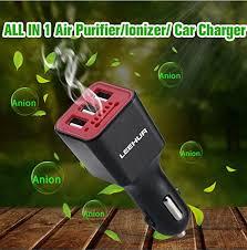 <b>LEEHUR Car Charger</b> Adapter, Mini Ionic Car Air Purifier, Car Air ...