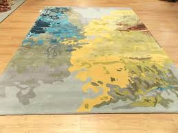 yellow lattice rug yellow gray rug 8 x gray yellow green blue contemporary hand tufted wool yellow lattice rug blue